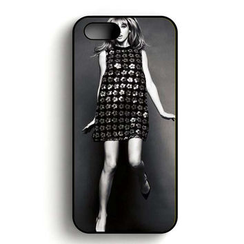Taylor Swift Black and White iPhone 5, iPhone 5s and iPhone 5S Gold case