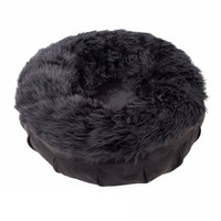 Animals Matter Shag Puff Dog Bed