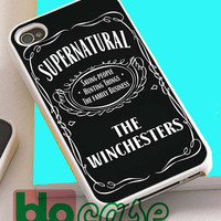 Supernatural The Winchester For Iphone 4/4s, iPhone 5/5s, iPhone 5C, iphone 6, and iPhone 6 Plus Case
