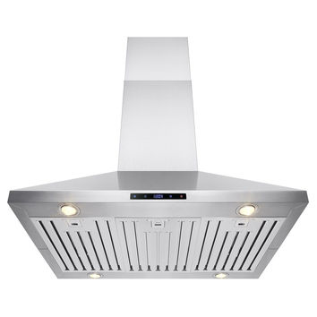 "FIREBIRD 36"" Stainless Steel Island Mount Powerful Cooking Fan Kitchen Vent R..."