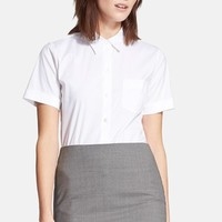 Women's Theory 'Uniform' Short Sleeve Blouse