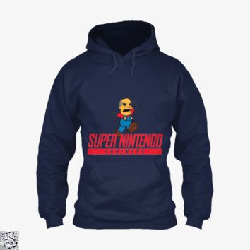 Super Nintendo Chalmers, The Simpsons Hoodie