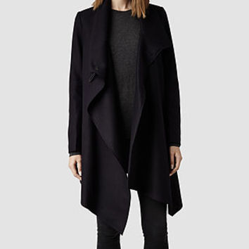 Womens City Monument Coat (Aubergine) | ALLSAINTS.com