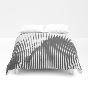 Grays Duvet Cover by duckyb