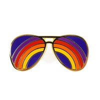 Rainbow Shades Pin by Circa 78 Designs