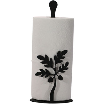 Wrought Iron Paper Towel Stand
