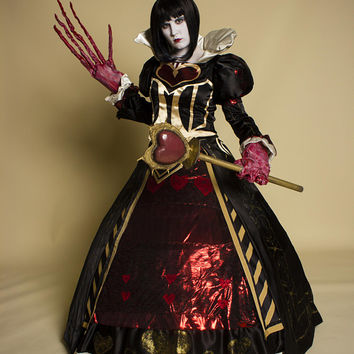 Queen of Hearts Alice Madness Returns Inspired Cosplay