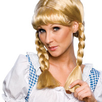Cowgirl Blonde Wig - Cowgirl Costumes