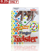 finger twister! dance on fingers family toys board game board game for children adult and children game