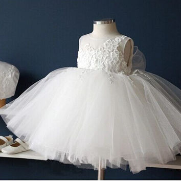 Summer Luxury Prom Dress Children Dress Princess Dress [4919698692]