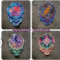 Custom Made To Order Steal Your Face Grateful Dead Patches
