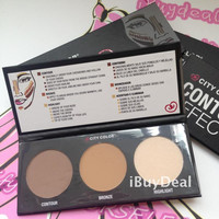Face Contour Effects Palette Kit Makeup Beauty Cosmetic Contouring Blendable Highlight Powder Bronzer