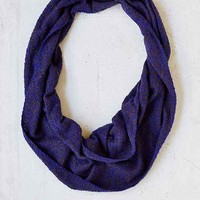 Boucle Woven Eternity Scarf-
