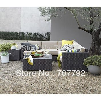 Ventura Modular outdoor rattan patio furniture sofa set