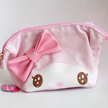 Cartoon My Melody Hello Kitty Cinnamoroll Dog Plush Purse Bag Anime Cosmetic Hand Bags Girls Lover Children Best Christmas Gifts