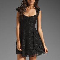 Free People Rock Candy Lace Dress in Black from REVOLVEclothing.com