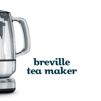 The Tea Maker - A Fast-Boiling, Cordless Kettle In Elegant Stainless Steel, With A Soft-Opening Lid To Let The Steam Out Gently | DavidsTea