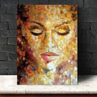 figure Wall Picture canvas painting home deor Wall art abstract Picture print on canvas for living room Art Decoration No Frame