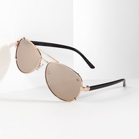 Simply Vera Vera Wang Aviator Sunglasses - Women