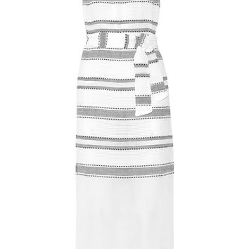 LemLem - Addis striped cotton-blend gauze dress