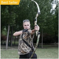 40 Lbs Compound Bow Shooting Straight Game Bow Hunting Outdoor Recurve Archery Athletics Sports Equipment Gift