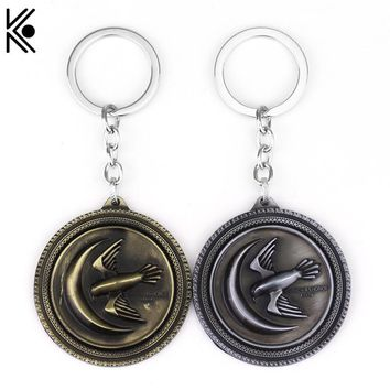 Game Of Throne House key chains keyrings The eagle logo move series jewelry jordan key