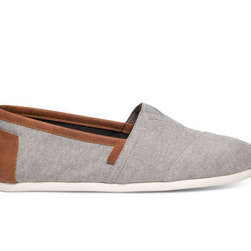 Frost Grey Chambray Men's Classics