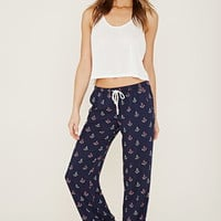 Anchor Print PJ Pants