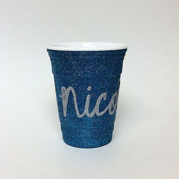 Name Glitter Party Cup