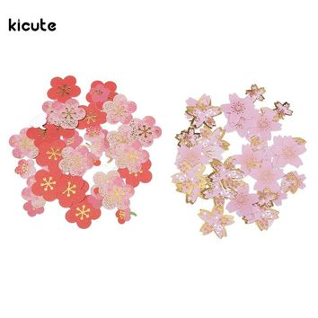 Plum Flower Cherry Blossoms Stationery Paper Stickers DIY Scrapbooking Wedding Hand Account Album Photo Diary Book Art Decor