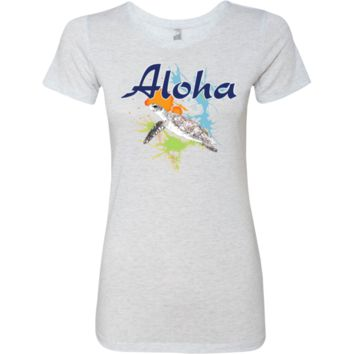 Aloha Ladies Triblend T-Shirt