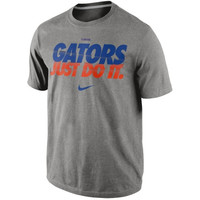 Nike Florida Gators Speed JDI Legend Performance T-Shirt - Ash