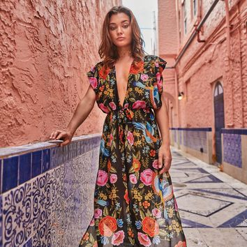 Soah Zoey spanish Cover Up Dress