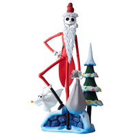 Santa Jack Skellington Nightmare Before Christmas SCI-FI Revoltech 017 Figure