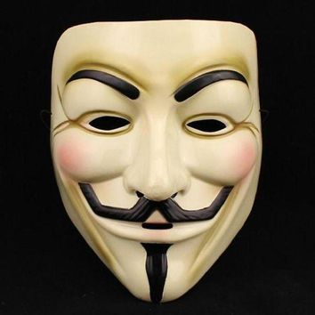 ac ICIKO2Q 1PCS  Hot Selling Party Masks V for Vendetta Mask Anonymous Guy Fawkes Fancy Dress Adult Costume Accessory Party Cosplay Masks