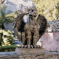 Park Avenue Collection Boden St Ambrose Gate Gargoyle