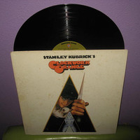 HALLOWEEN SALE Vinyl Record Album A Clockwork Orange Original Soundtrack Lp 1972 Kubrick Cult Classic
