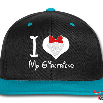 i love my girlfriend Snapback