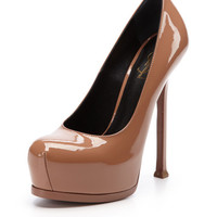 Tribute Two Pump by Saint Laurent Paris at Gilt