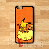 Pokemon pikachu orange glitters cute image -srrd for iPhone 4/4S/5/5S/5C/6/ 6+,samsung S3/S4/S5/S6 Regular/S6 Edge,samsung note 3/4