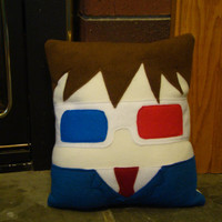 Doctor Who plush pillow,  David Tennent, 10th Dr decorative pillow