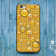Cute Phone Cover Smiley Face Emoji Collage Case iPod iPhone 4 4s 5 5s 5c 6 Plus