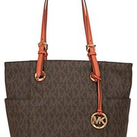 MICHAEL Michael Kors Jet Set Travel Chain Large Top Zip Multi Function Tote