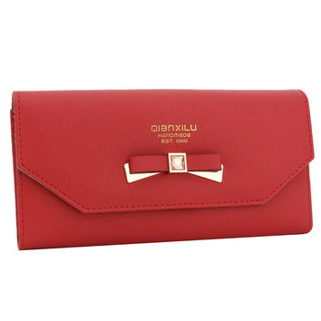Leather Ladies Bags Fashion Wallet [9248532228]