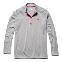 Under Armour Tech Quarter Zip for Men in True Grey 1242220-026