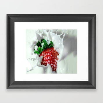 YUM YUM Framed Art Print by abeerhassan