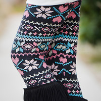 Young Hearts Pixilated Leggings