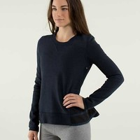 Ruffled Up Pullover