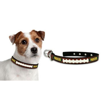 Green Bay Packers Dog Collar - Size Small