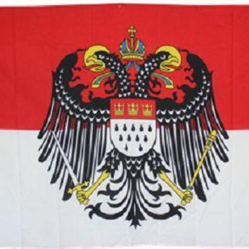 Cologne with Eagle German City Flag Rough Tex Knitted Indoor Outdoor College Flag 3' x 5' Banner metal holes Custom Flag